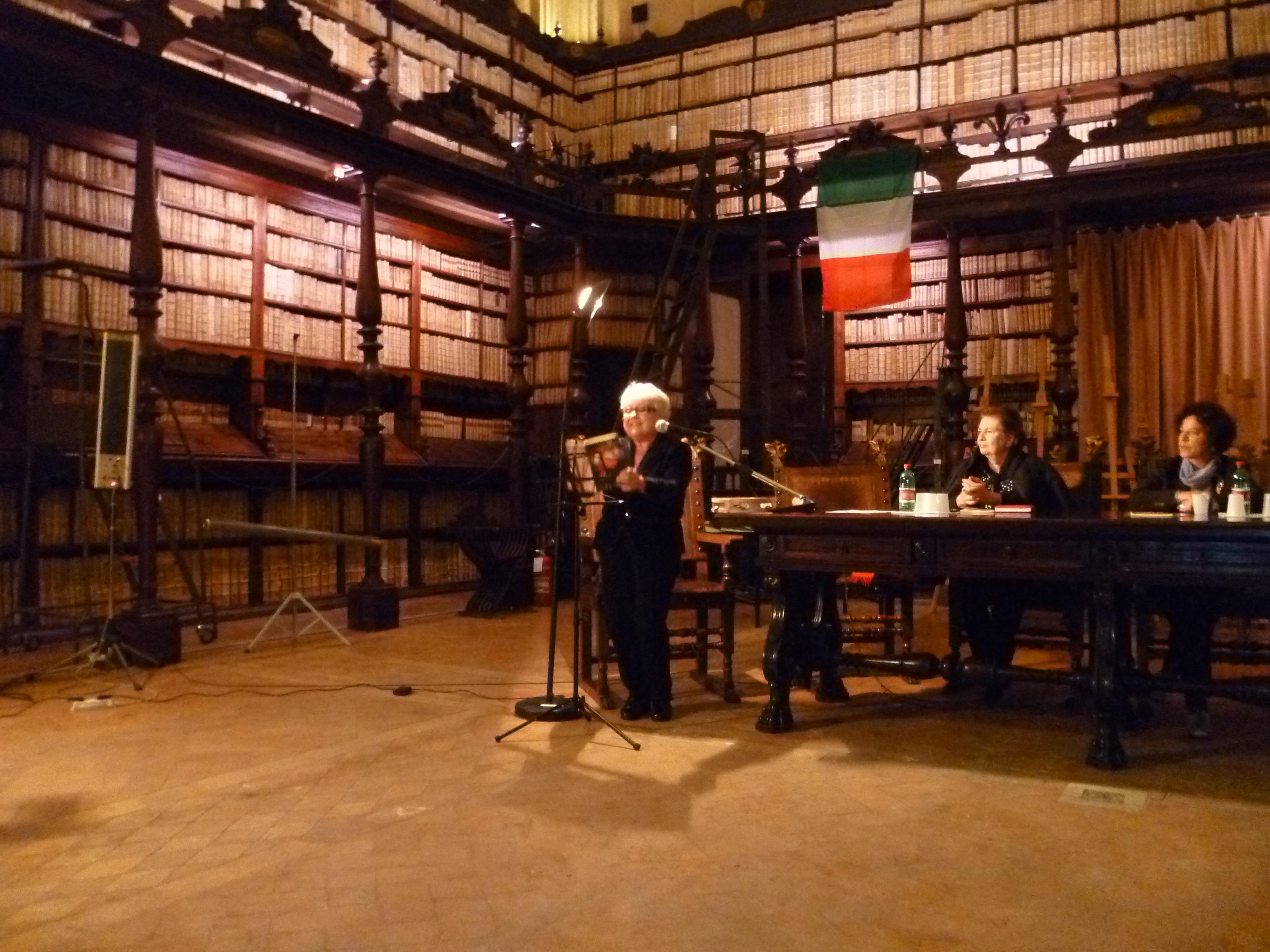 Biblioteca vallicelliana, Roma, presentazione Gramaglie e Frattaglie
