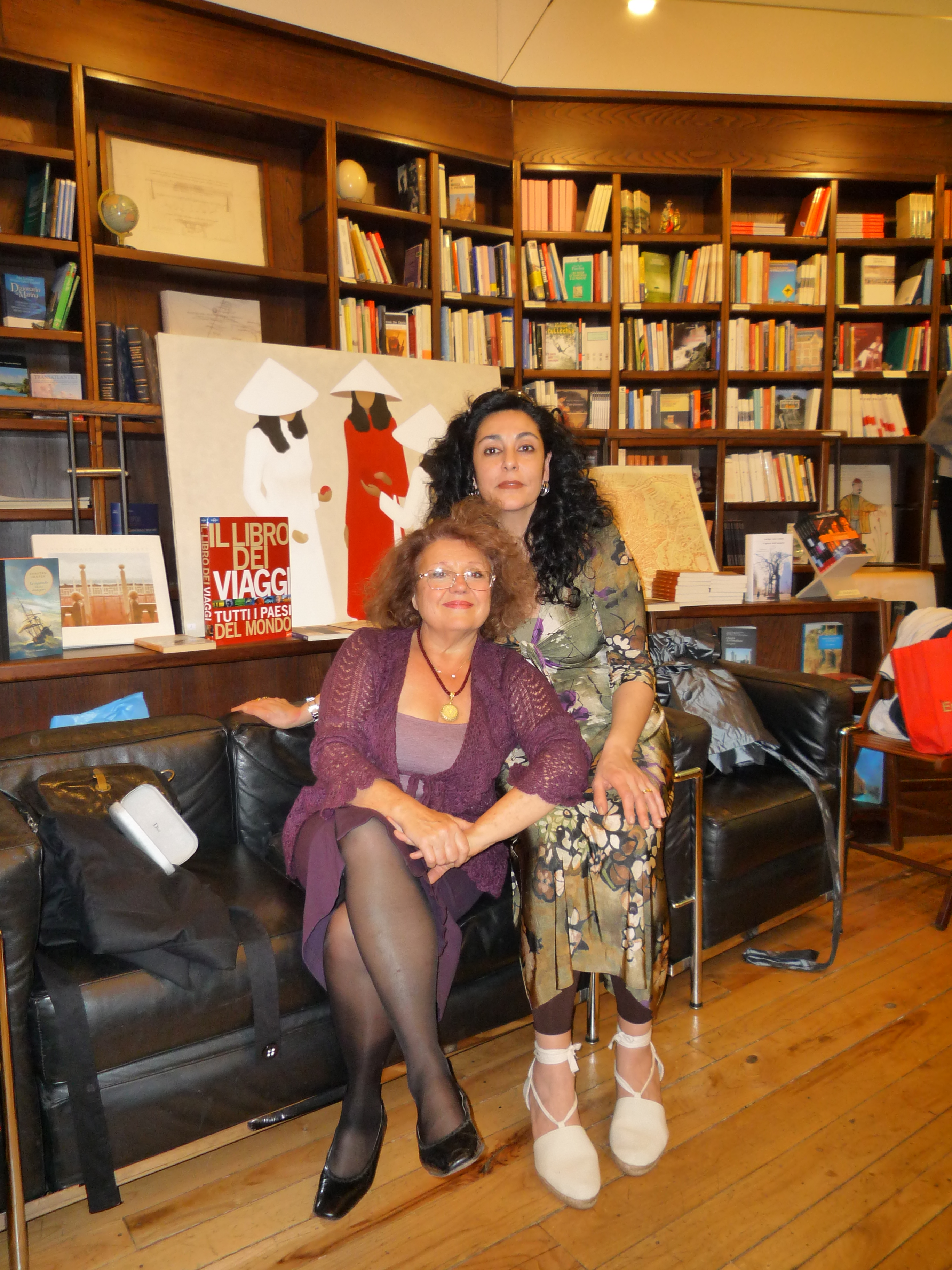 Con la poetessa Monica Osnato